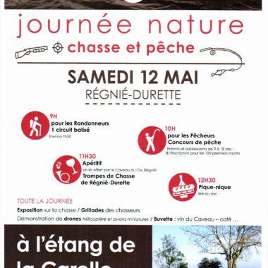 Journée nature Chasse et Pêche à Régnié Durette
